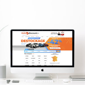 Création de bannière web - Destckage